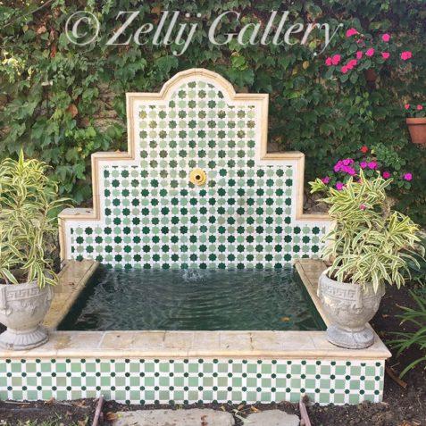 Moroccan pool tiles
