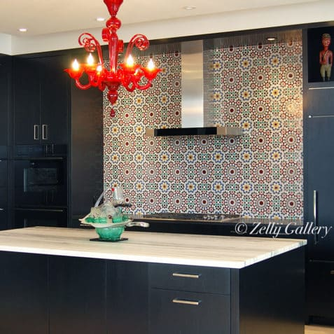 Moroccan kitchen tile